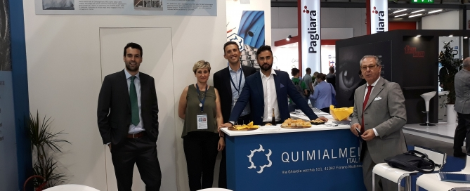 Quimialmel Italia in Plast 2018